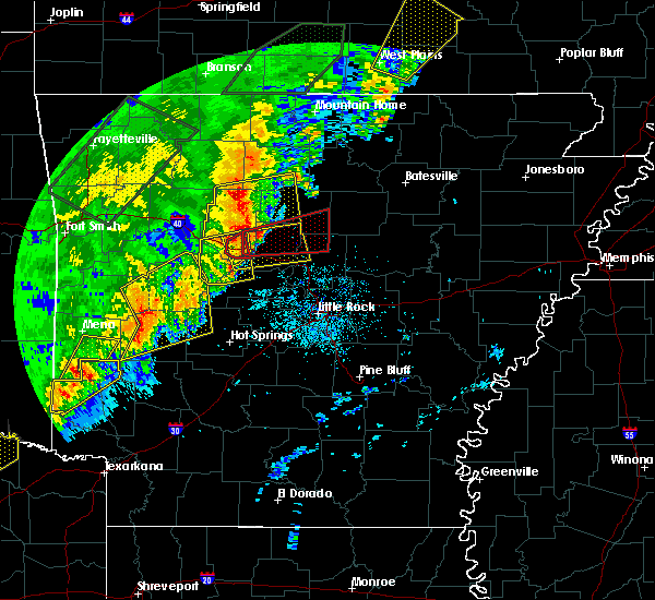 Radar Image for Severe Thunderstorms near Damascus, AR at 4/26/2017 10:33 AM CDT