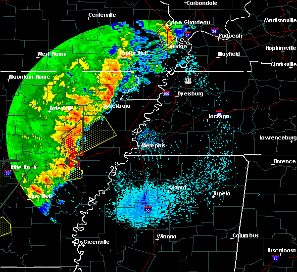 Radar Image for Severe Thunderstorms near Fisher, AR at 4/26/2017 4:53 PM CDT