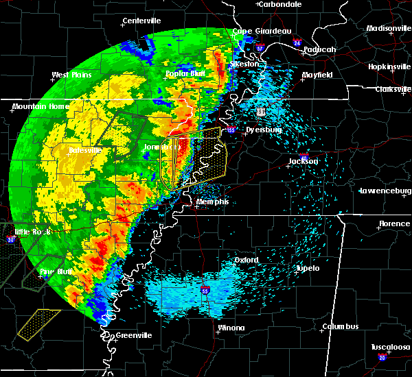 Radar Image for Severe Thunderstorms near Black Oak, AR at 4/26/2017 6:03 PM CDT