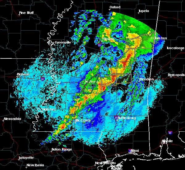 Radar Image for Severe Thunderstorms near Newton, MS at 4/26/2017 11:04 PM CDT