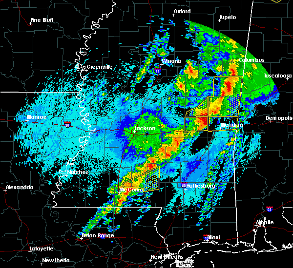 Radar Image for Severe Thunderstorms near Lauderdale, MS at 4/26/2017 11:44 PM CDT