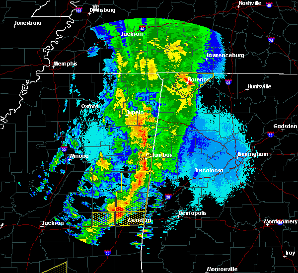 Radar Image for Severe Thunderstorms near Littleville, AL at 4/26/2017 11:54 PM CDT