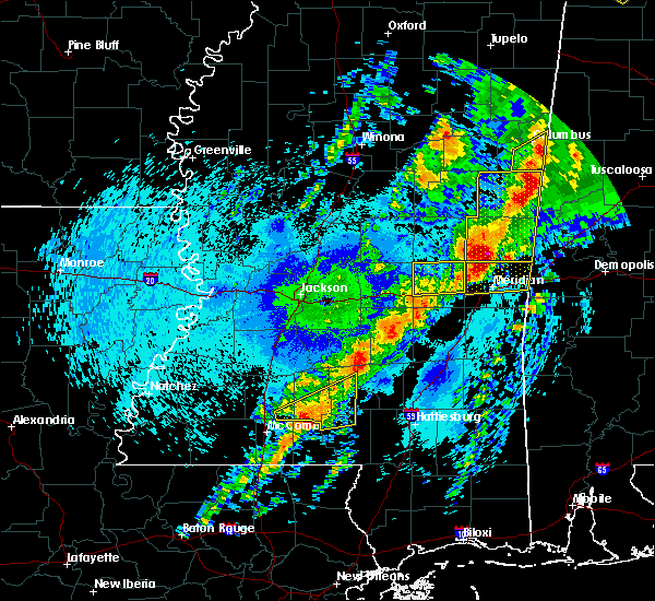 Radar Image for Severe Thunderstorms near Lauderdale, MS at 4/26/2017 11:54 PM CDT