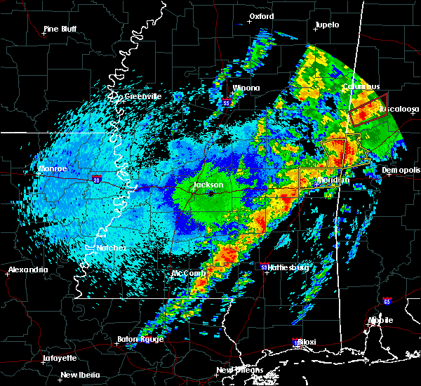 Radar Image for Severe Thunderstorms near Lauderdale, MS at 4/27/2017 12:24 AM CDT