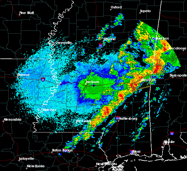 Radar Image for Severe Thunderstorms near Lauderdale, MS at 4/27/2017 12:33 AM CDT