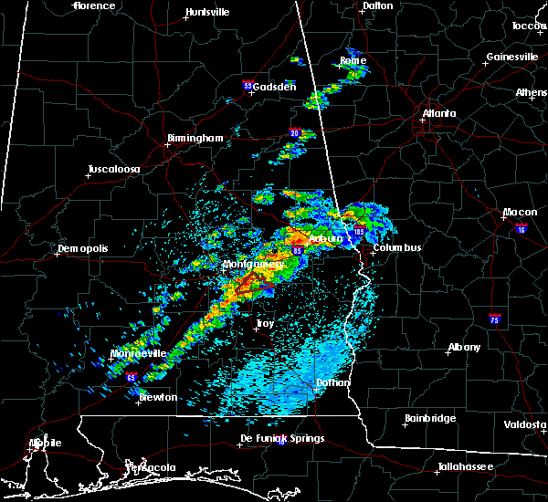 Radar Image for Severe Thunderstorms near Pike Road, AL at 4/27/2017 9:14 AM CDT