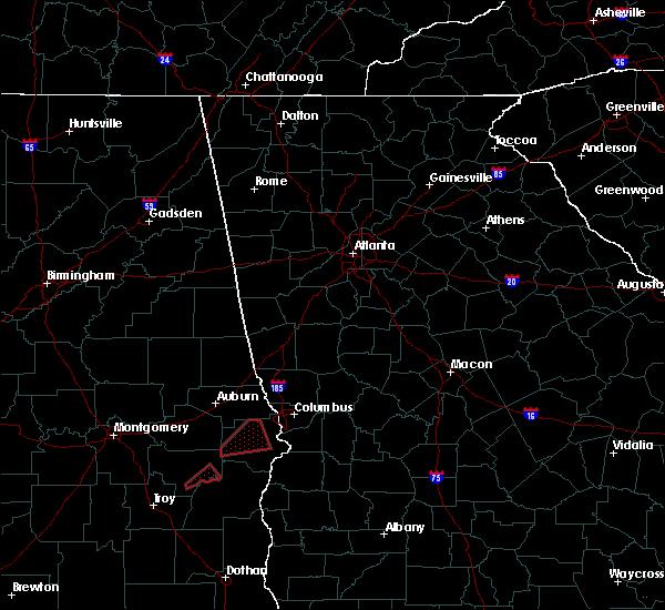 Radar Image for Severe Thunderstorms near Columbus, GA at 4/27/2017 1:15 PM EDT