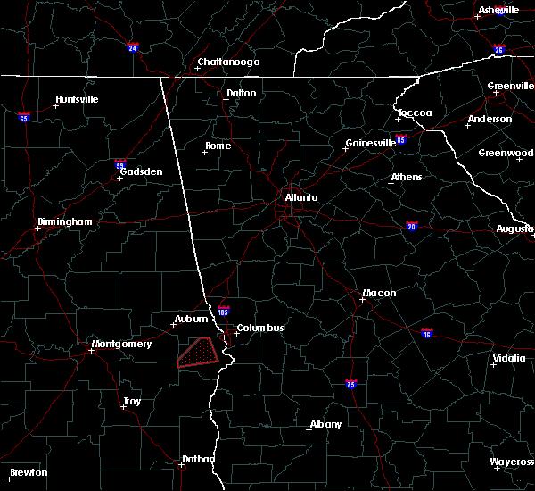 Radar Image for Severe Thunderstorms near Junction City, GA at 4/27/2017 1:37 PM EDT
