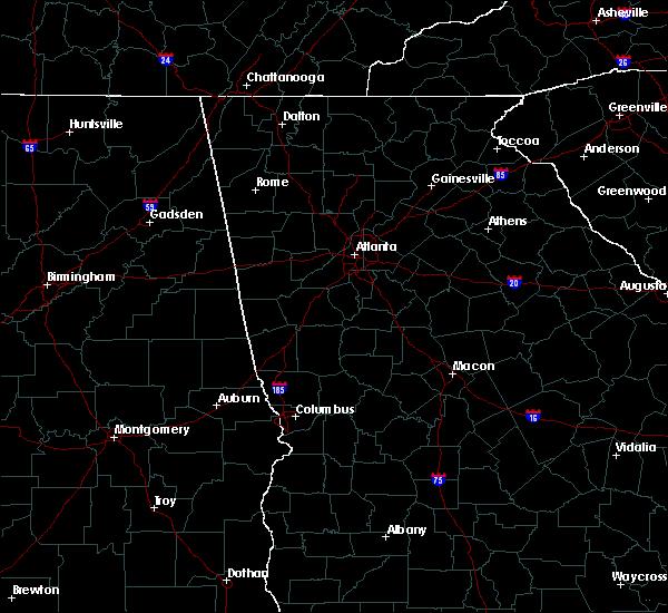 Radar Image for Severe Thunderstorms near Salem, GA at 4/27/2017 1:57 PM EDT