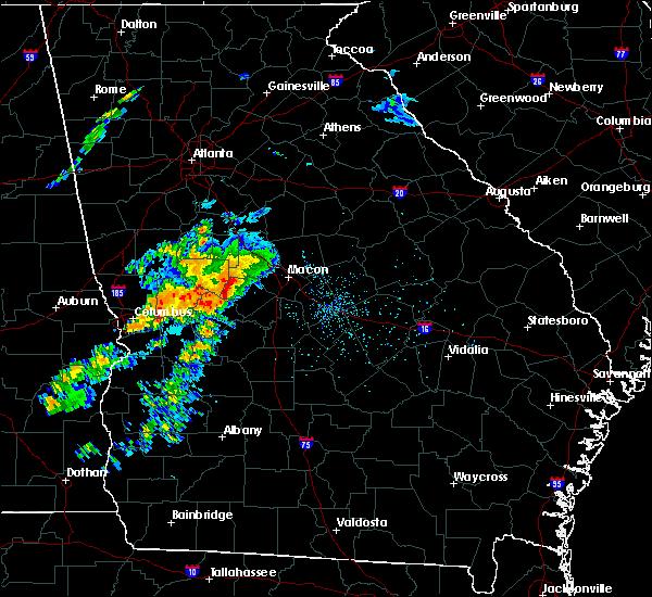 Radar Image for Severe Thunderstorms near Salem, GA at 4/27/2017 2:09 PM EDT
