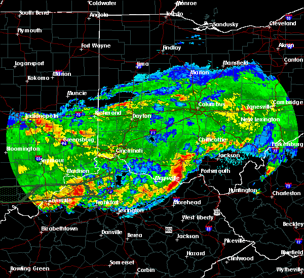 Radar Image for Severe Thunderstorms near Rome, OH at 4/29/2017 3:00 AM EDT
