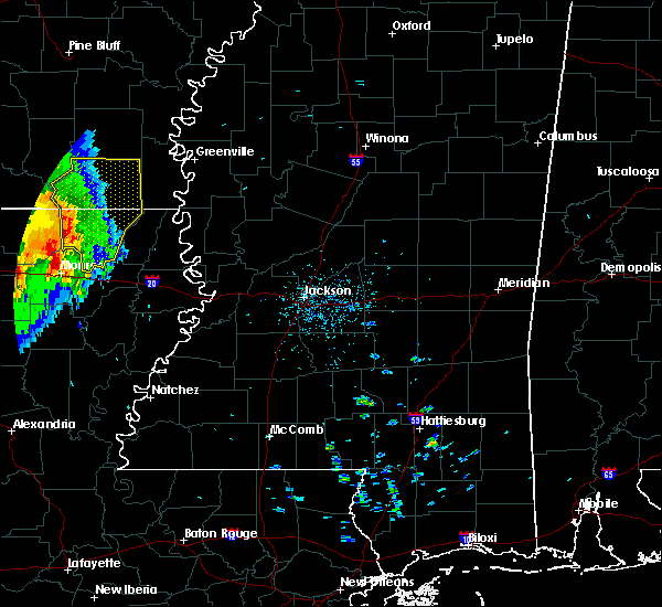Radar Image for Severe Thunderstorms near Bonita, LA at 4/29/2017 4:26 PM CDT