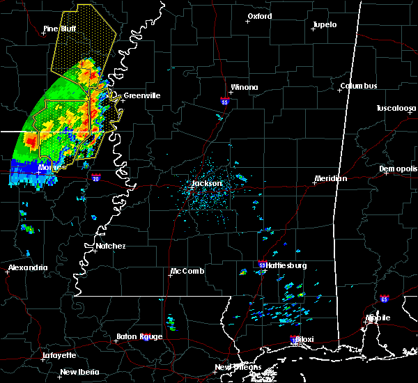 Radar Image for Severe Thunderstorms near Eudora, AR at 4/29/2017 5:26 PM CDT