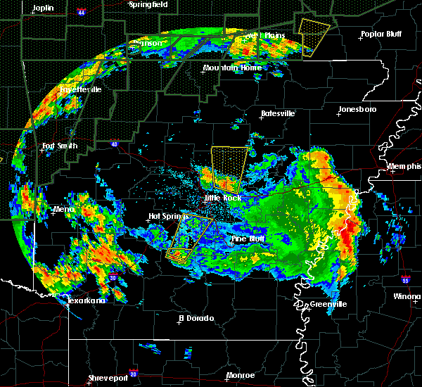 Radar Image for Severe Thunderstorms near Carthage, AR at 4/29/2017 7:27 PM CDT