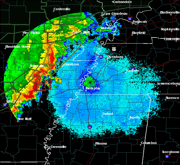 Radar Image for Severe Thunderstorms near Paragould, AR at 4/30/2017 12:59 AM CDT