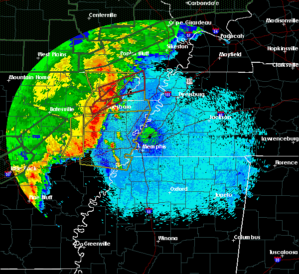 Radar Image for Severe Thunderstorms near Paragould, AR at 4/30/2017 1:39 AM CDT