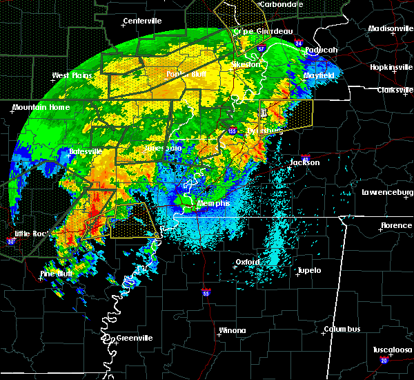 Radar Image for Severe Thunderstorms near Wheatley, AR at 4/30/2017 3:28 AM CDT