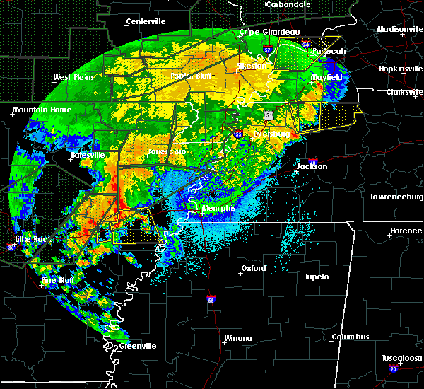 Radar Image for Severe Thunderstorms near Wheatley, AR at 4/30/2017 3:56 AM CDT