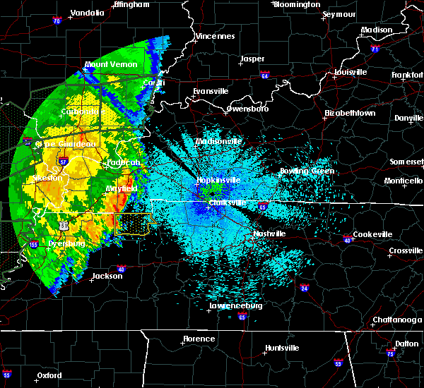 Radar Image for Severe Thunderstorms near Paris, TN at 4/30/2017 4:09 AM CDT