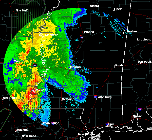 Radar Image for Severe Thunderstorms near Natchez, MS at 4/30/2017 6:26 AM CDT