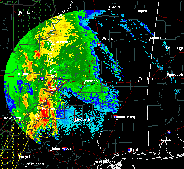 Radar Image for Severe Thunderstorms near Natchez, MS at 4/30/2017 6:53 AM CDT
