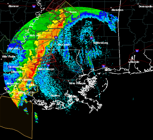 Radar Image for Severe Thunderstorms near Patterson, LA at 4/30/2017 8:23 AM CDT