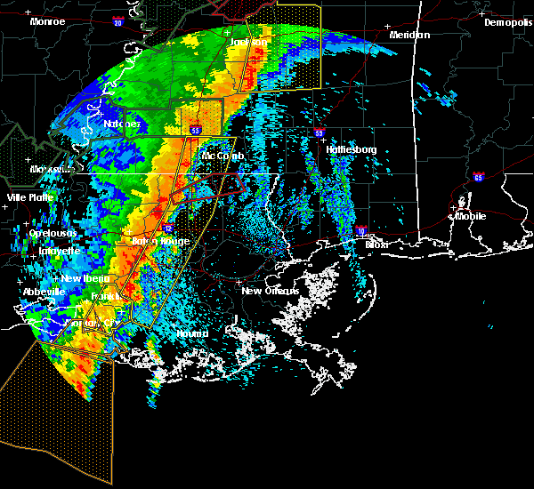 Radar Image for Severe Thunderstorms near Patterson, LA at 4/30/2017 9:04 AM CDT