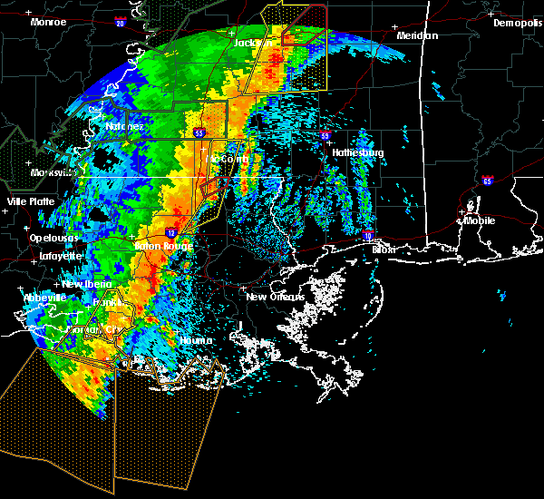 Radar Image for Severe Thunderstorms near Independence, LA at 4/30/2017 9:24 AM CDT