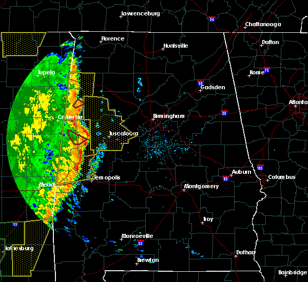 Radar Image for Severe Thunderstorms near Tuscaloosa, AL at 4/30/2017 12:18 PM CDT