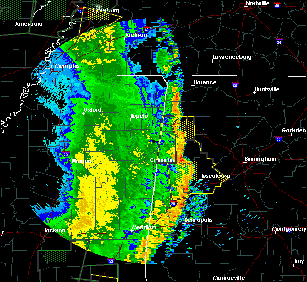 Radar Image for Severe Thunderstorms near Twin, AL at 4/30/2017 12:40 PM CDT
