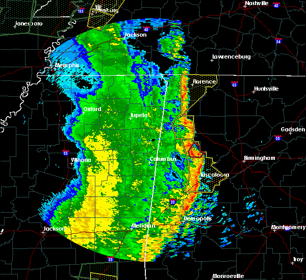 Radar Image for Severe Thunderstorms near Hatton, AL at 4/30/2017 12:59 PM CDT