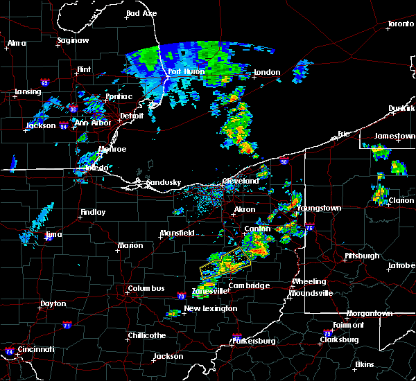 Radar Image for Severe Thunderstorms near Tuscarawas, OH at 4/30/2017 3:43 PM EDT