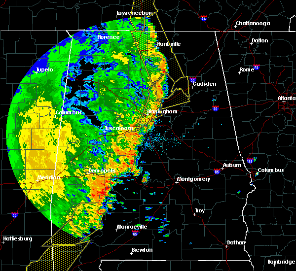 Radar Image for Severe Thunderstorms near Egypt, AL at 4/30/2017 2:46 PM CDT