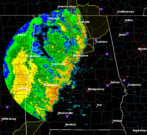 Radar Image for Severe Thunderstorms near Ashville, AL at 4/30/2017 3:01 PM CDT