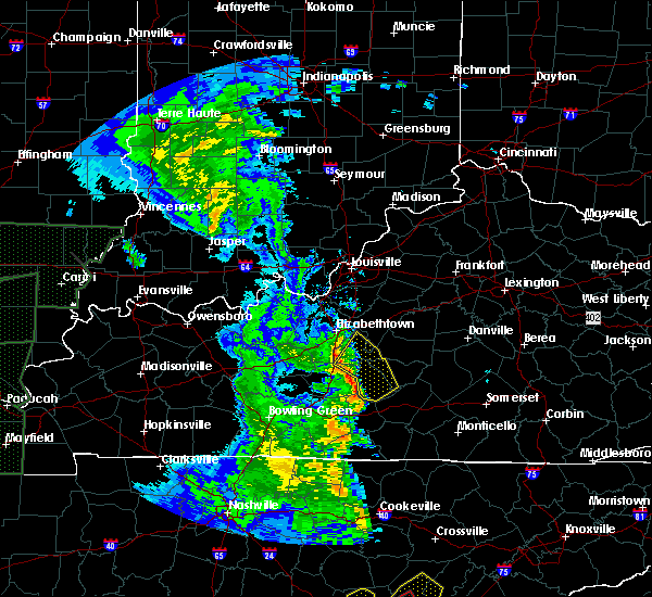 Radar Image for Severe Thunderstorms near Hodgenville, KY at 4/30/2017 4:58 PM CDT