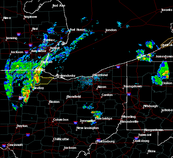Radar Image for Severe Thunderstorms near McComb, OH at 4/30/2017 6:01 PM EDT