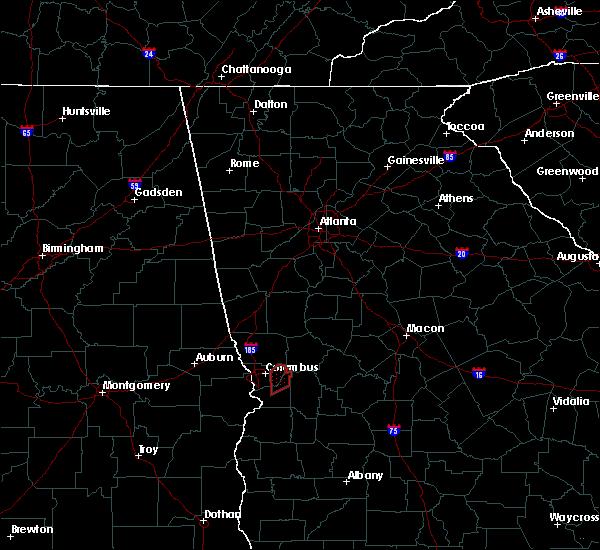 Radar Image for Severe Thunderstorms near Columbus, GA at 5/1/2017 10:38 AM EDT