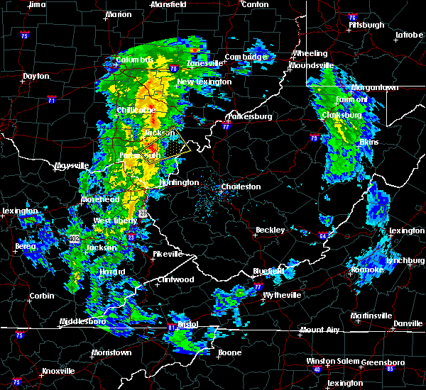 Radar Image for Severe Thunderstorms near Gallipolis, OH at 5/1/2017 11:34 AM EDT