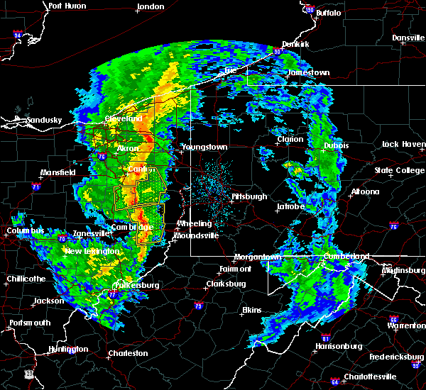 Radar Image for Severe Thunderstorms near Lafferty, OH at 5/1/2017 1:20 PM EDT