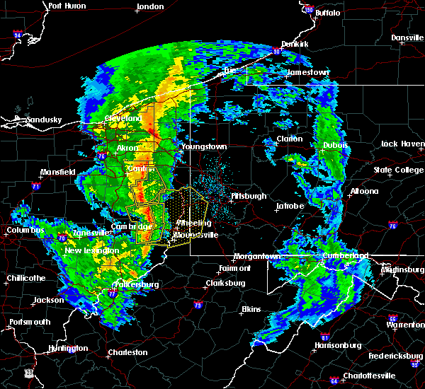 Radar Image for Severe Thunderstorms near Lafferty, OH at 5/1/2017 1:26 PM EDT