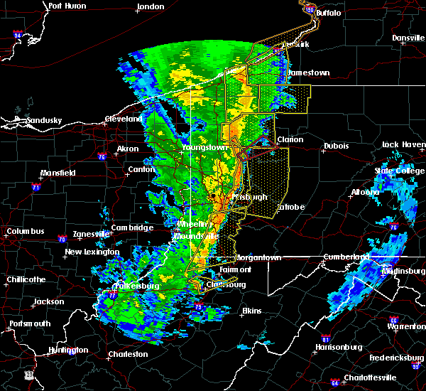 Radar Image for Severe Thunderstorms near Fairview, PA at 5/1/2017 2:57 PM EDT