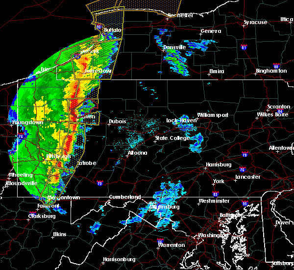 Radar Image for Severe Thunderstorms near Vowinckel, PA at 5/1/2017 3:29 PM EDT
