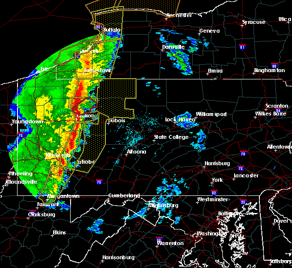 Radar Image for Severe Thunderstorms near Vowinckel, PA at 5/1/2017 3:35 PM EDT