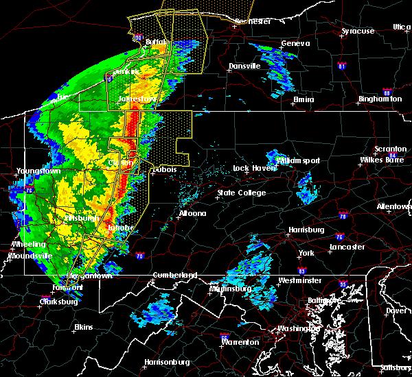 Radar Image for Severe Thunderstorms near James City, PA at 5/1/2017 3:51 PM EDT