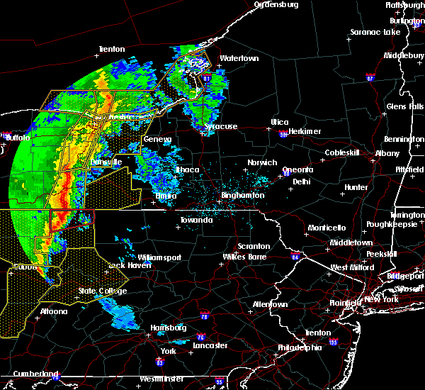 Radar Image for Severe Thunderstorms near Coopers Plains, NY at 5/1/2017 4:58 PM EDT