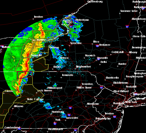 Radar Image for Severe Thunderstorms near Prattsburgh, NY at 5/1/2017 5:07 PM EDT