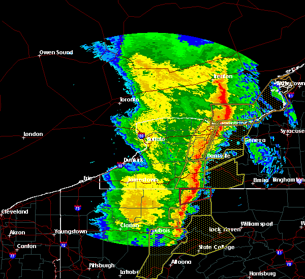 Radar Image for Severe Thunderstorms near Stannards, NY at 5/1/2017 5:07 PM EDT