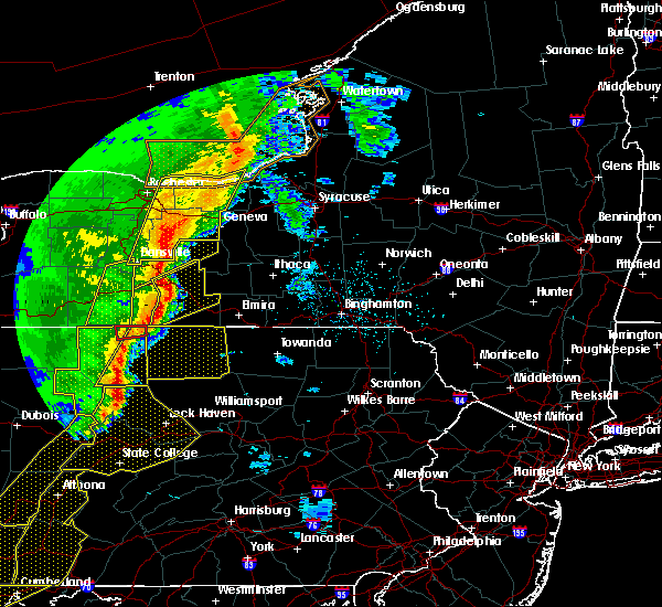 Radar Image for Severe Thunderstorms near Coopers Plains, NY at 5/1/2017 5:30 PM EDT