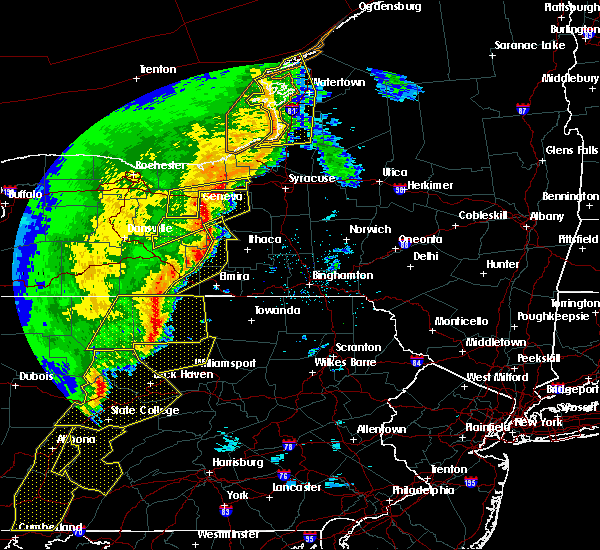 Radar Image for Severe Thunderstorms near Coopers Plains, NY at 5/1/2017 6:08 PM EDT
