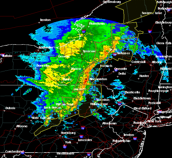 Radar Image for Severe Thunderstorms near Mountain Top, PA at 5/1/2017 7:56 PM EDT